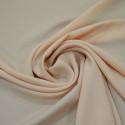 Powder pink satin cady crepe fabric
