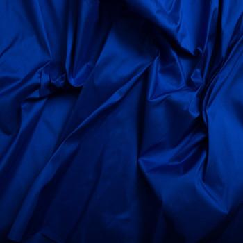 Doupion de soie 100% soie bleu royal