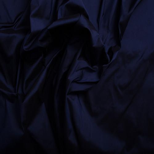 Doupion de soie 100% soie bleu nuit
