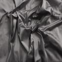 Doupion de soie 100% soie gris argent