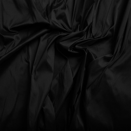 Silk doupion 100% silk black