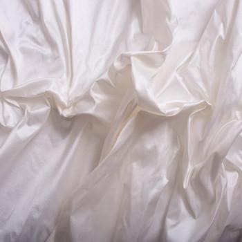 Doupion de soie 100% soie ivoire
