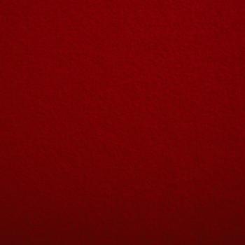 Tissu laine bouillie 100% laine rouge