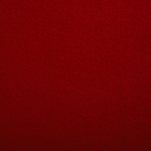 Boiled wool 100% wool fabric red