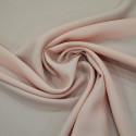 Pink satin cady crepe fabric