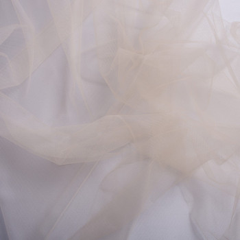 Nude illusion tulle fabric