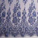 Calais lace laminette night blue