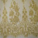 Calais lace laminette gold/gold