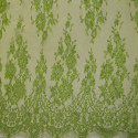 Calais lace laminette anise green