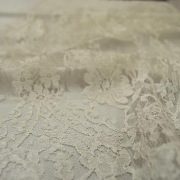 Calais lace ivory