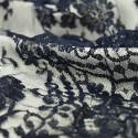Calais lace night blue