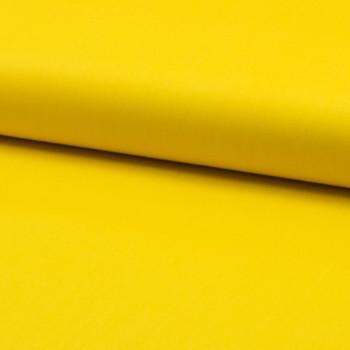 Poplin fabric 100% cotton yellow