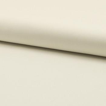 Tissu popeline 100% coton uni écru