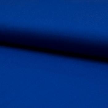 Tissu popeline 100% coton uni bleu royal