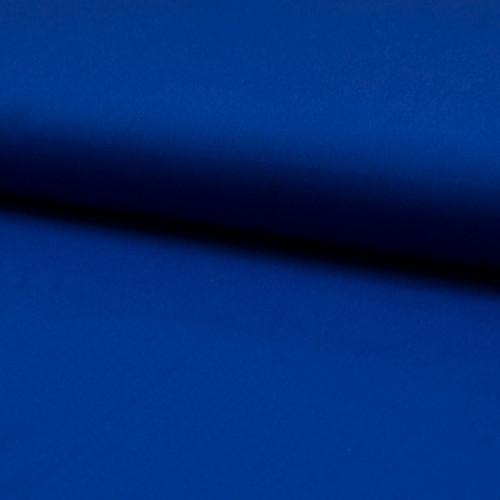 Poplin fabric 100% cotton royal blue