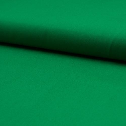 Tissu popeline 100% coton uni vert gazon
