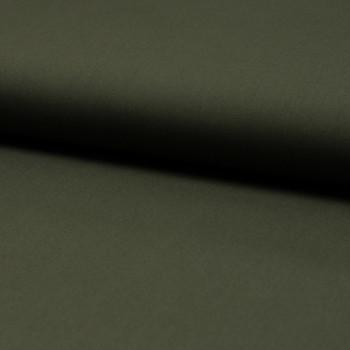 Poplin fabric 100% cotton khaki green