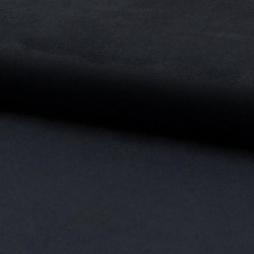Tissu suédine bleu marine