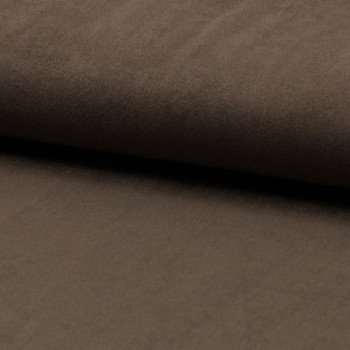 Suede fabric taupe beige