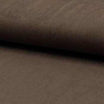 Tissu suédine beige taupe