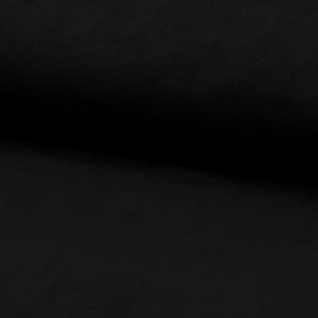 Suede fabric black
