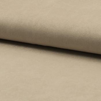 Tissu suédine beige sable