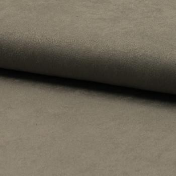 Tissu suédine beige taupe clair