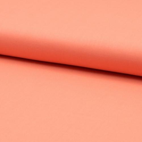 Tissu voile de coton 100% coton orange pêche