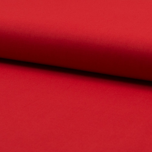 Cotton voile fabric 100% cotton red