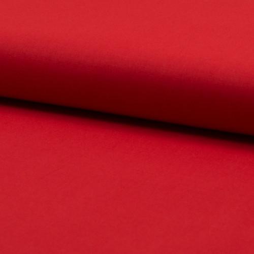 Tissu voile de coton 100% coton rouge