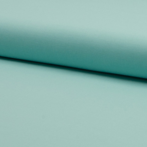 Tissu voile de coton 100% coton vert menthe