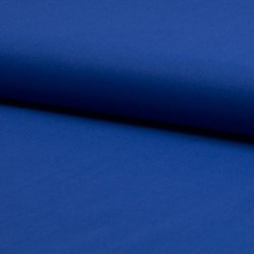 Tissu voile de coton 100% coton bleu royal