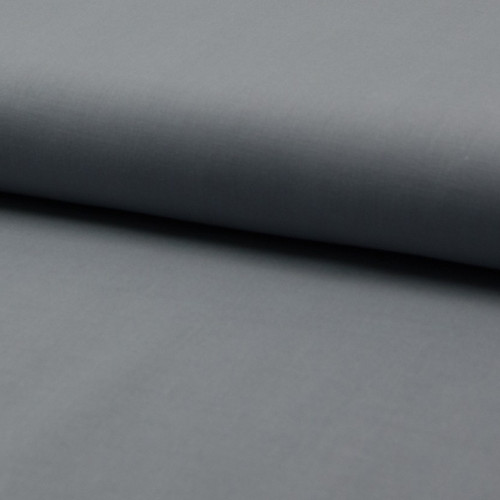 Cotton voile fabric 100% cotton silver grey