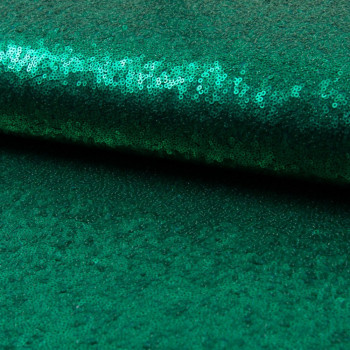Glitter fabric cocktail green