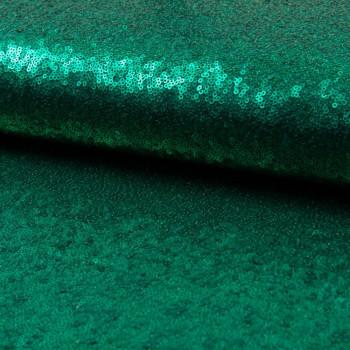 Tissu paillettes cocktail vert