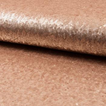 Glitter fabric cocktail sand beige