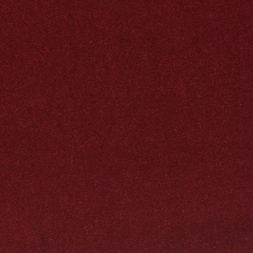 Tissu velours 100% coton bordeaux