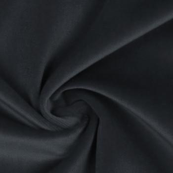 100% cotton grey velvet fabric