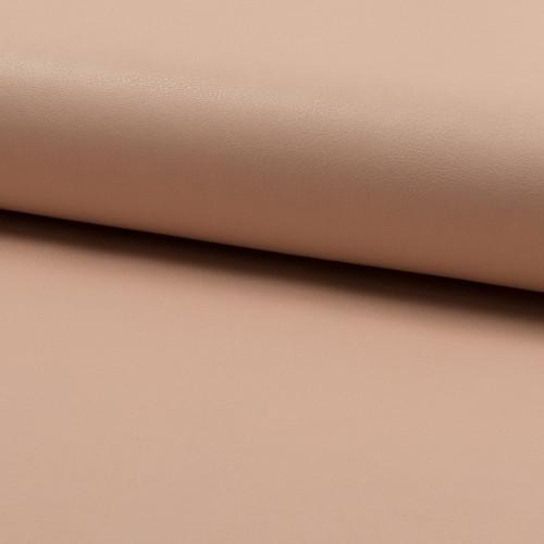 Tissu simili cuir rose saumon
