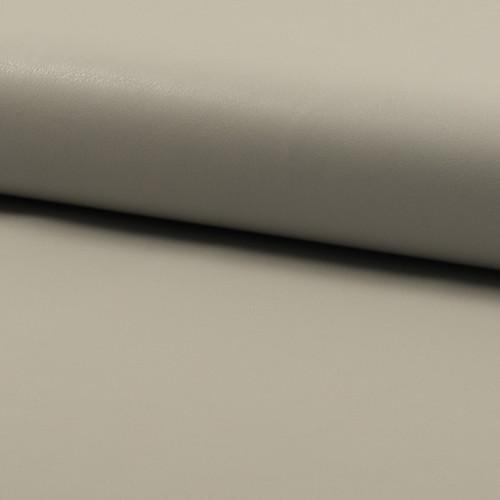 Tissu simili cuir gris argent
