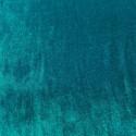 Duck blue sandwashed silk velvet fabric