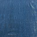 Indigo blue sandwashed silk velvet fabric