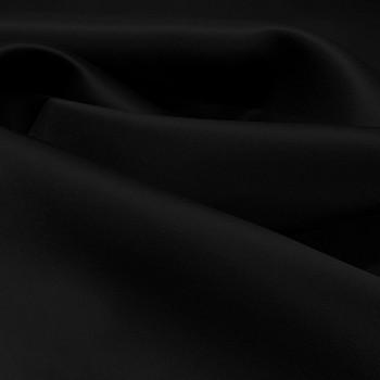 Tissu triple organza de soie noir