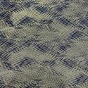 Khaki green leaves jacquard silk fabric