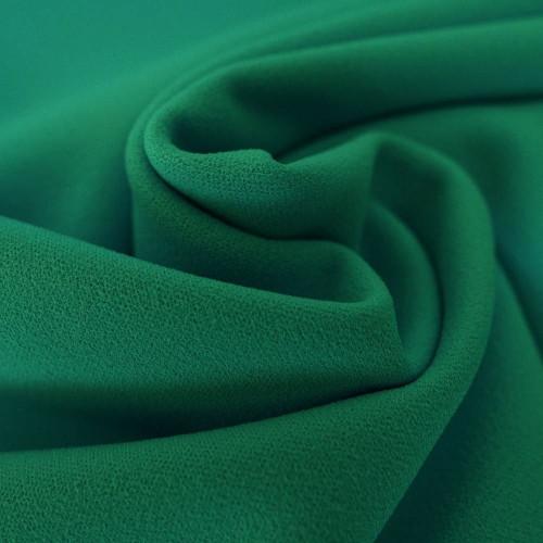 Tissu crêpe scuba vert émeraude