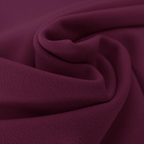 Eggplant purple scuba crepe fabric