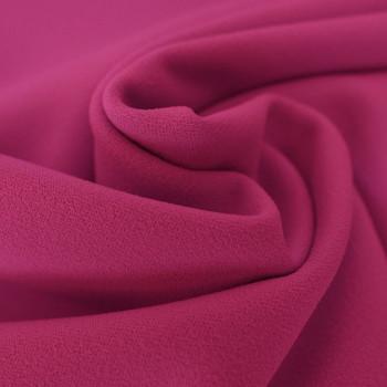 Tissu crêpe scuba rose