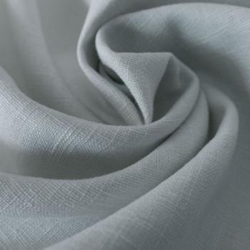 Sky blue 100% linen fabric