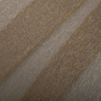 Gold pleated lurex fabric
