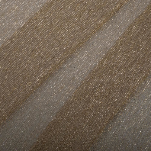 Gold pleated lurex fabric